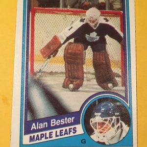 Alan Bester Rookie Hockey Card O-Pee-Chee 1983-84 #297
