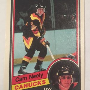 Cam Neely Rookie Card O-Pee-Chee #327