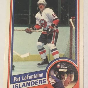 Pat LaFontaine Rookie Card O-Pee-Chee #129