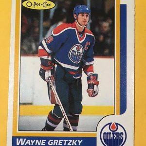 Wayne Gretzky 1986-87 O-Pee-Chee #3 Hockey Card