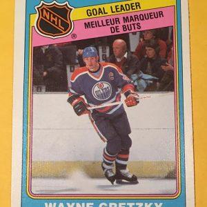 Wayne Gretzky Goal Leader 1983-84 O-Pee-Chee #381 Hockey Card