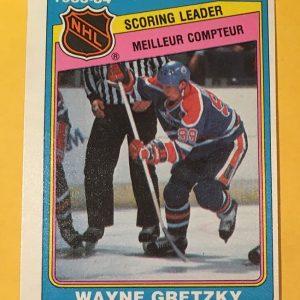 Wayne Gretzky Scoring Leader 1983-84 O-Pee-Chee #380