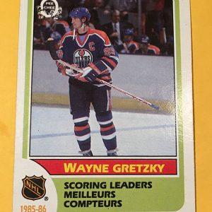 Wayne Gretzky Scoring Leader 1985-86 O-Pee-Chee #260