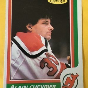 Alain Chevrier Rookie Card 1986-87 O-Pee-Chee #225