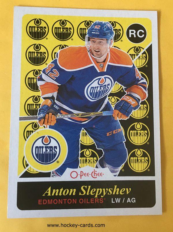 Anton Slepyshev O-Pee-Chee Rookie Card 2015-16 #U14