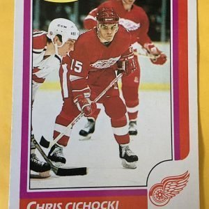 Chris Cichocki Rookie Card #41 O-Pee-Chee 1986-87