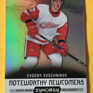 Evgeny Svechnikov 2017-18 UD Synergy Noteworthy Newcomers NN-2