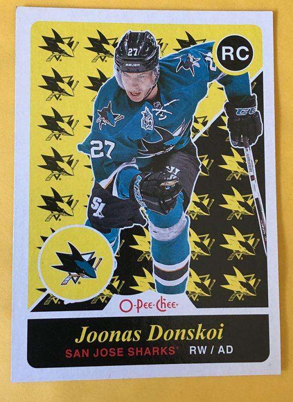 Joonas Donskoi 15/16 O-Pee-Chee OPC Retro Update Rookie #U41