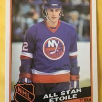 Topps 1984//85 Mike Bossy Card #91 New York Islanders