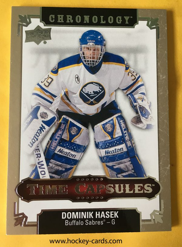Dominik Hasek Chronology Time Capsules #TC-39