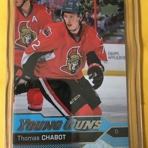 Thomas Chabot Young Guns 2016-17 Upper Deck #488 Rookie Card