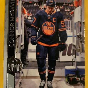 Connor McDavid #73 2020-21 Upper Deck Series 1 Hockey Base Card