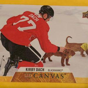 Kirby Dach Chicago Blackhawks 2020-21 Upper Deck Series 1 UD Canvas C18