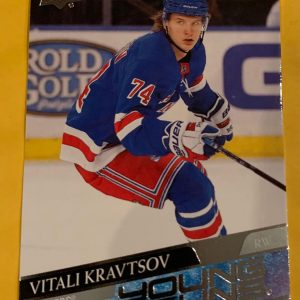 Vitali Kravtsov #243 2020-21 Upper Deck Series 1 Young Guns RC