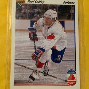 Paul Coffey 1991-92 Upper Deck Hockey #11 Canada Cup