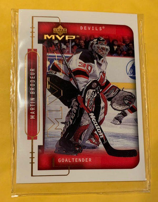 1999-00 Upper Deck MVP Martin Brodeur #115 HOF