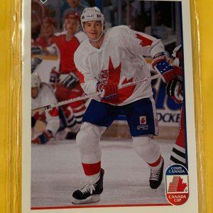 Al Macinnis 1991-92 Upper Deck Hockey #8 Canada Cup